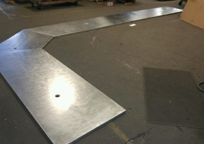 Stainless Steel Counter Top for Parts Counter