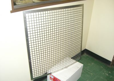 Stainless Steel Grill to Protect Equipment