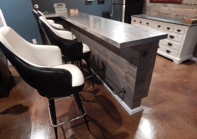 Stainless Steel Counter Top for Home Bar