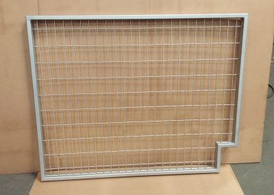 Steel Mesh & Tube Frame Guard for Escalator