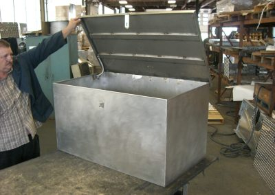 Stainless Steel Cabinet to House Equipment