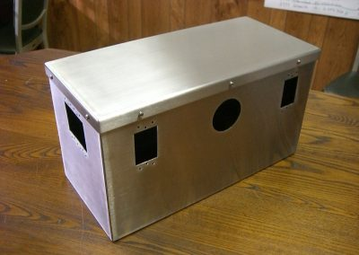 Stainless Steel Outlet Box for Operating Rooms