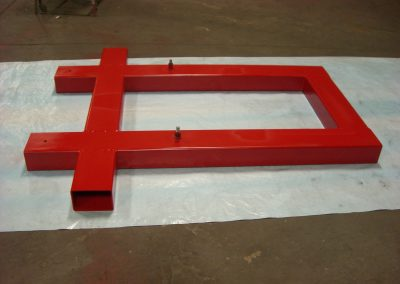 Welded Steel Skid for Moving Compaction Equipment