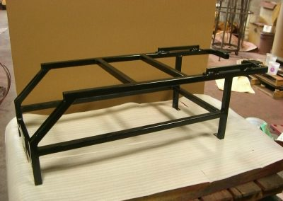Powder Coated Pedicure Spa Support Frame