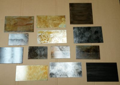 Distressed Finish Sample for Architect Examples