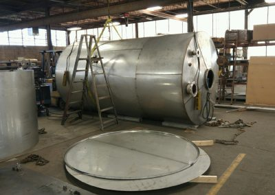 Stainless Steel Round Storage Tank