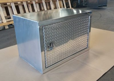 Welded Heavy Duty Aluminum Tool Box